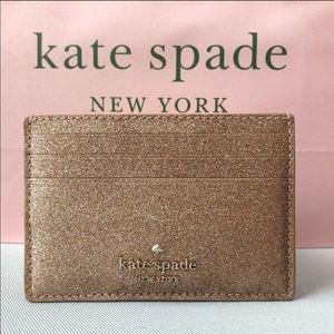 Kate Spade Joeley Glitter Slim CardHolder Gift Box